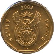 20 Cents (Sepedi/Sesotho Legend - Afrika Borwa) -  obverse