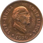 1 Cent (Jacobus Johannes Fouché) – obverse