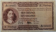 10 Shillings (Afrikaans - English) – obverse
