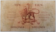 10 Shillings (Afrikaans - English) – reverse