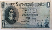 1 Pound (English - Afrikaans) – obverse