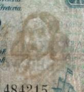 1 Pound (English - Afrikaans) -  obverse