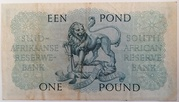 1 Pound (Afrikaans - English) – reverse
