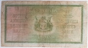 5 Pounds (English - Afrikaans) – reverse