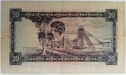 20 Rand (Afrikaans - English) – reverse