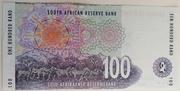 100 Rand – reverse