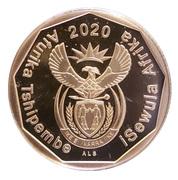 50 Cents (Tshivenda - isiNdebele) -  obverse