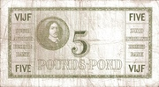 5 Pounds (English - Dutch) -  reverse