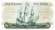5 Pounds (Afrikaans - Englsih) -  reverse