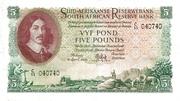 5 Pounds (Afrikaans - Englsih) -  obverse