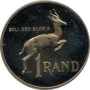 1 Rand (Pieter W. Botha) – reverse