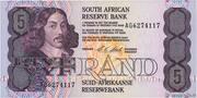 5 Rand – obverse