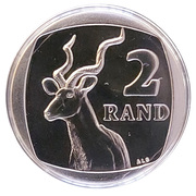 2 Rand (Aforika Borwa - South Africa) -  reverse