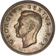 5 Shillings - George VI (Cape Town Anniversary) – obverse