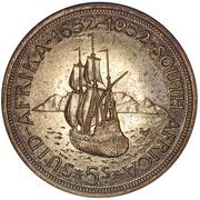 5 Shillings - George VI (Cape Town Anniversary) – reverse