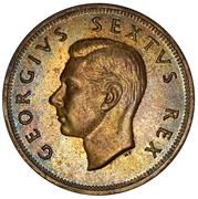 2½ Shillings - George VI (2½S) – obverse