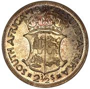 2½ Shillings - George VI (2½S) – reverse