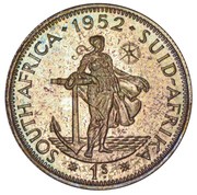 1 Shilling - George VI (1S) – reverse