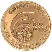 1/10 Ounce (Groot Trek 150 Years) – reverse