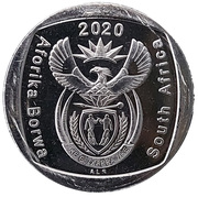 2 Rand (Freedom and Security of the Person) – obverse