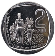 2 Rand (Freedom and Security of the Person) – reverse