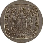5 Rand (Presidential inauguration) – obverse