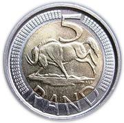 5 Rand (Aforika Borwa - Afrika Borwa) – reverse