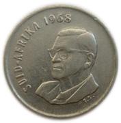 5 Cents (Charles Swart; Afrikaans Legend - SUID-AFRIKA) -  obverse