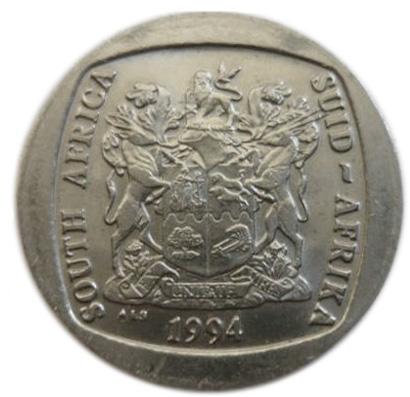 mandela 5 rand coin 2018 value