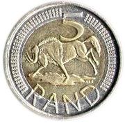 5 Rand (Suid Afrika - uMzantsi Afrika) – reverse