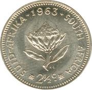 2½ Cents (1st decimal series) -  reverse