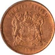 1 Cent (Ndebele Legend - ISEWULA AFRIKA) -  obverse