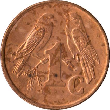 1 Cent Ndebele Legend Isewula Afrika South Africa Numista