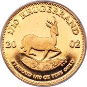 1/10 Ounce Krugerrand -  reverse