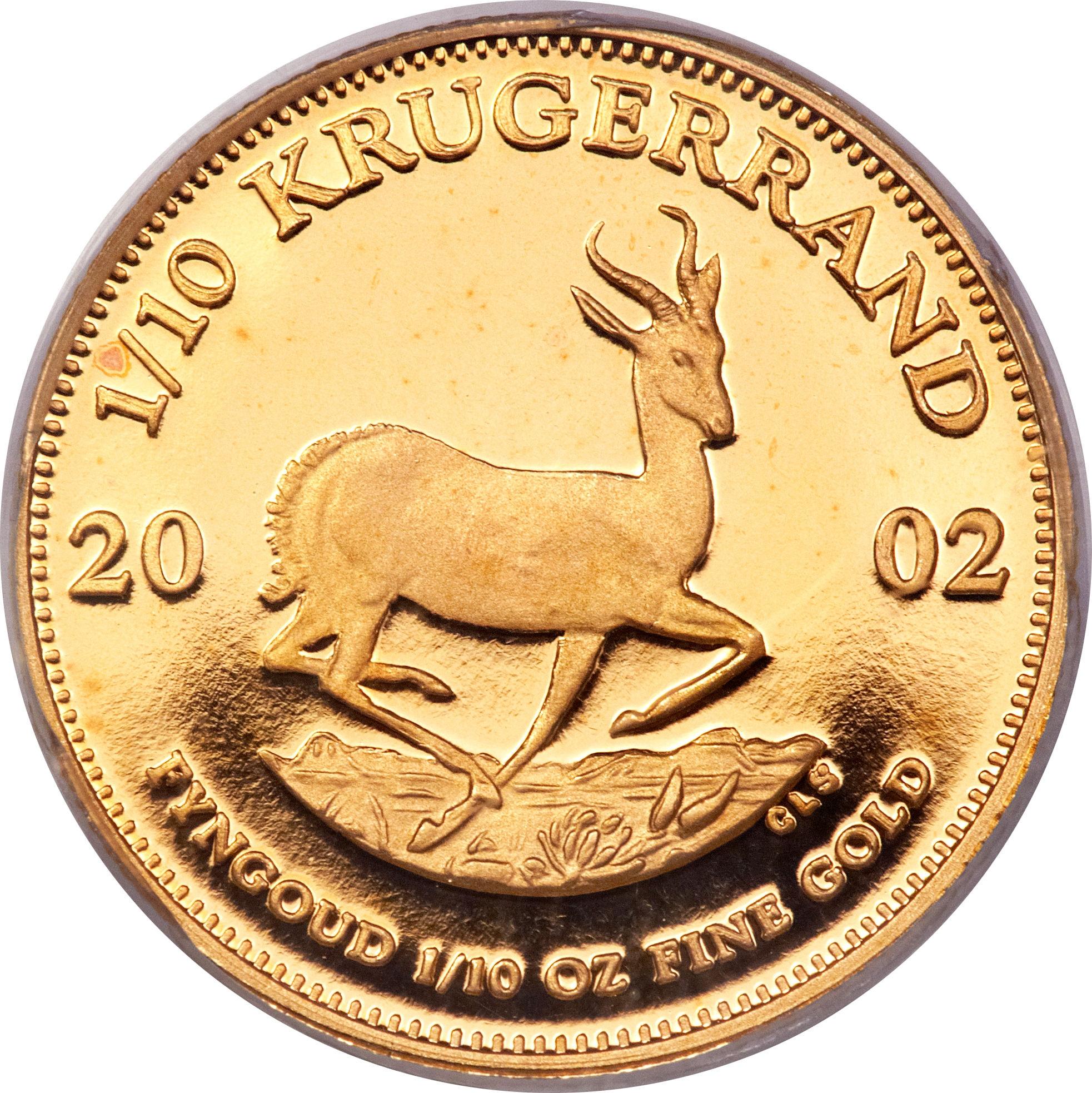 1 10 Ounce Krugerrand