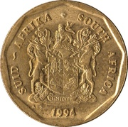 50 Cents (SUID-AFRIKA - SOUTH AFRICA) -  obverse