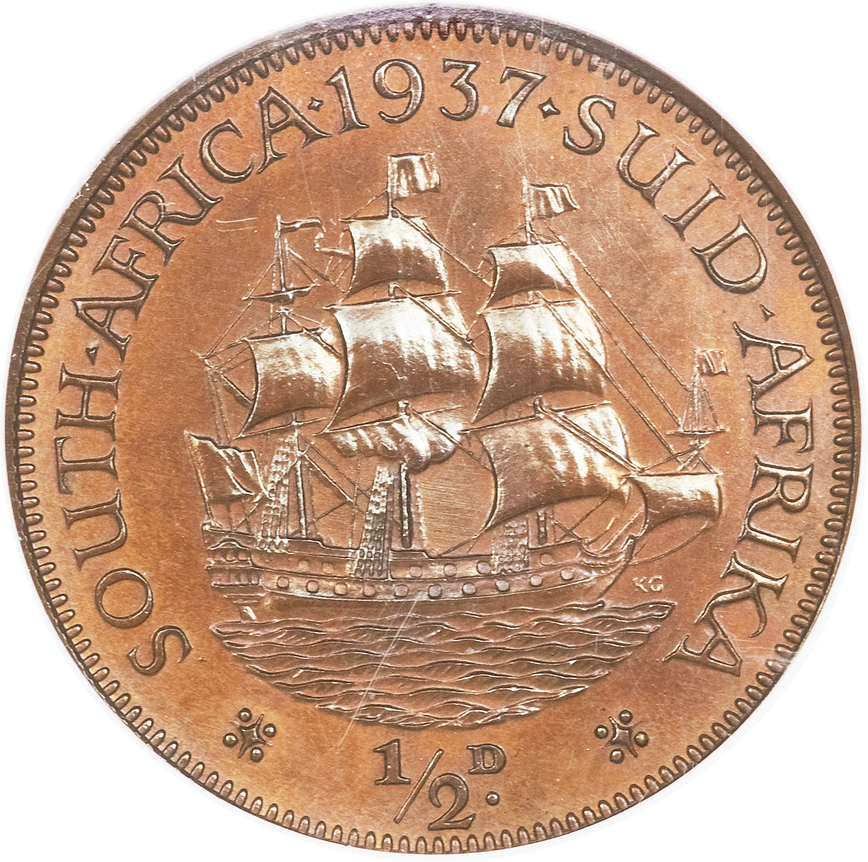 189 Penny George Vi South Africa Numista