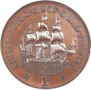 1 Penny - George VI -  reverse