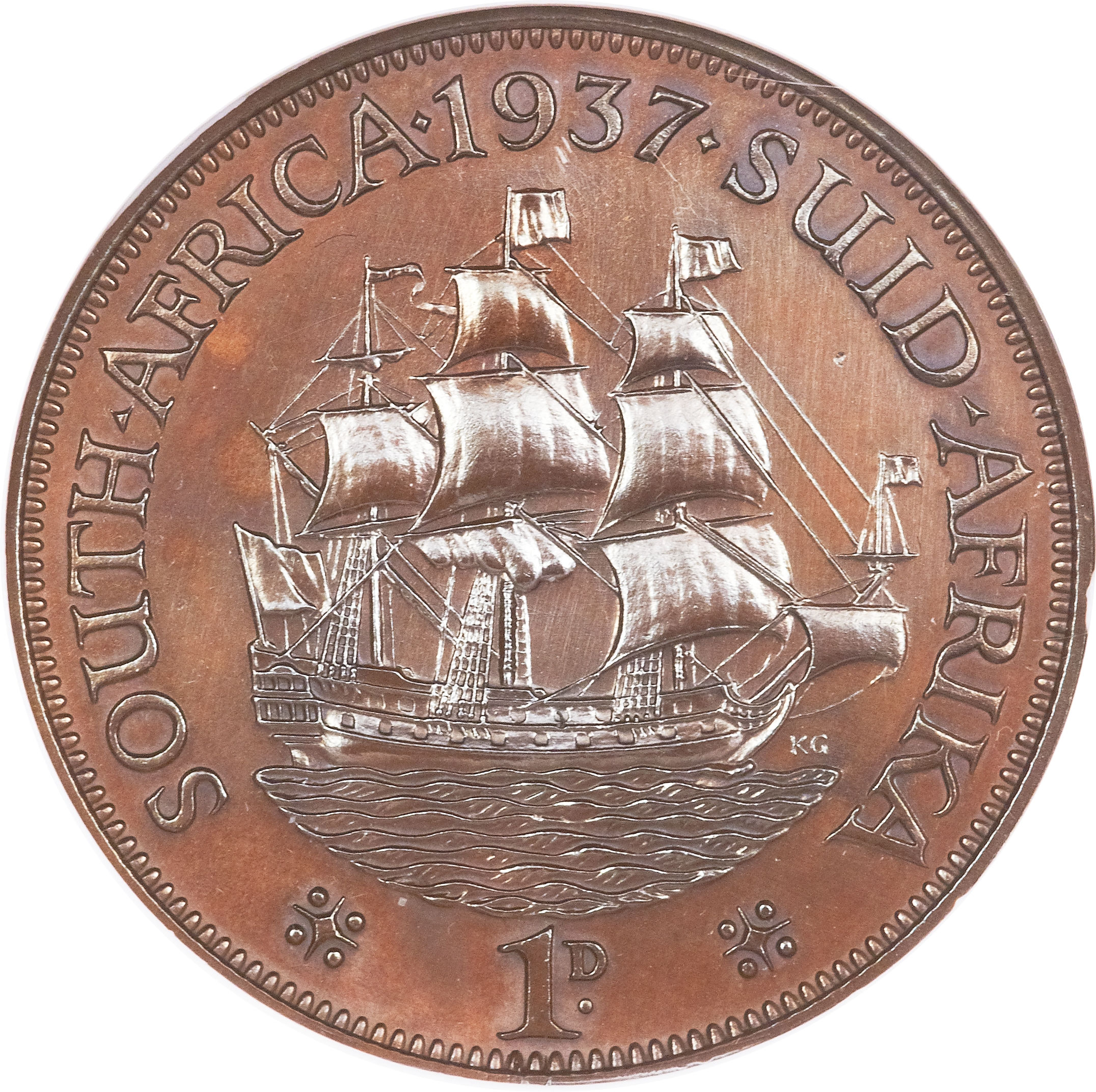 1 penny george vi south africa numista for One penny homes