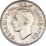 2½ Shillings - George VI (2½ Shillings, IMPERATOR) – obverse