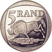 5 Rand (Nelson Mandela) – reverse