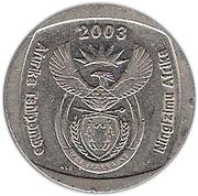 5 Rand (Afurika Tshipembe - Ningizimu Afrika) – obverse
