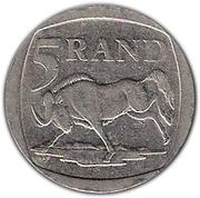 5 Rand (Afurika Tshipembe - Ningizimu Afrika) – reverse