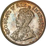 2½ Shillings - George V (2½ Shillings, SUID-AFRIKA) – obverse