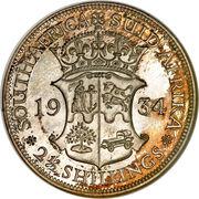 2½ Shillings - George V (2½ Shillings, SUID-AFRIKA) – reverse
