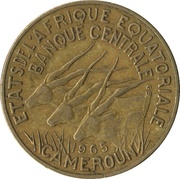 10 Francs CFA -  obverse