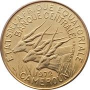 25 Francs CFA – obverse