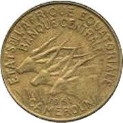 10 Francs CFA (Essai) – obverse
