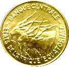 100 Francs CFA (Piedfort Essai) – obverse