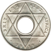 1/10 Penny - George V – reverse